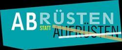 Logo-Abruesten-statt-Aufruesten