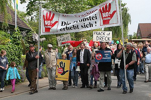 Anti-Fracking-Demo prasdorf